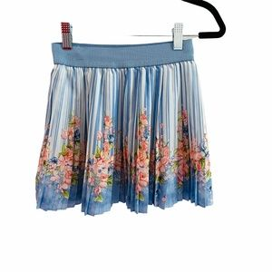 Girls Mayoral Spain Pleated Skirt Size 8 128